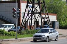 В Павлодаре, на пересечении улиц Ворушина и Гагарина, появился светофор
