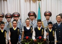 В канун Дня Независимости воспитанники Мичуринского детского дома побывали в гостях у полицейских