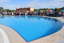 Первый открытый бассейн появился в городском парке Экибастуза