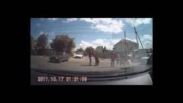 В Павлодаре на пешеходном переходе сбили девушку