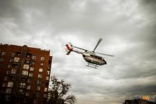 Более 300 человек госпитализировали с помощью санавиации в Прииртышье с начала года