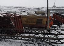 Два локомотива столкнулись в Экибастузе