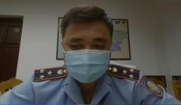 Начальник департамента полиции Павлодарской области заявил, что пострадавший от нападения участковый получил только царапины и ссадины