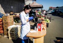 Санитарные врачи не обнаружили в местных и привозных овощах нитратов