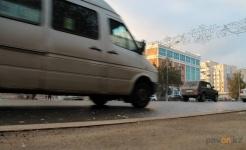 Четвертый маршрут уходит с улицы Ломова на улицу Академика Чокина