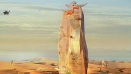 В пустыне Сахара построят вертикальный город (видео)