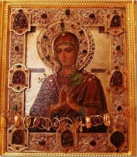 В Павлодар прибудет чудотворная икона Божьей Матери «Смягчение злых сердец»
