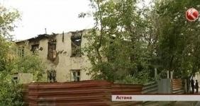 В Астане пожилая женщина-инвалид заживо сгорела в крупном пожаре