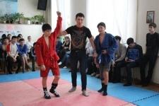 Самбо в честь 550-летия Казахского ханства