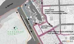 В Павлодаре готовятся к открытию гребного канала