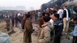 Число погибших при крушении поезда в Индии превысило 115 человек