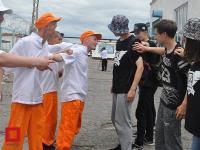 Заключенные устроили танцевальный батл в Павлодаре