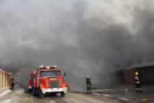 В акимате Павлодара пояснили, почему после пожара в кафе была обесточена улица
