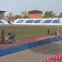 На Центральном стадионе начался ремонт