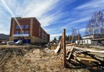 Фирма, которая возводит инфекционный корпус облбольницы в Павлодаре, работает долго, еще и плохо?
