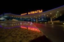"""Cамолет """"Эйр Астаны"""" больше часа кружил над аэропортом Алматы"""