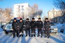 Павлодарские полицейские выступили в роли пожарных и спасли людей