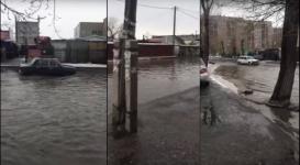 Потоп парализовал жизнь жителей Семея