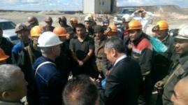 """Рудник """"Майкаинзолота"""" закрыли после забастовки горняков"""