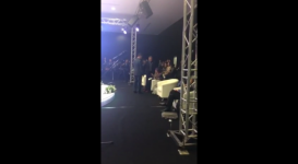 В соцсетях появилось видео инцидента на Астанинском экономическом форуме