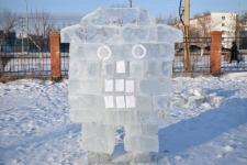 В Экибастузе подведены итоги конкурса на лучшую ледяную скульптуру
