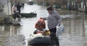 Павлодарцев просят сегодня помочь жителям СКО, пострадавшим от сильного паводка