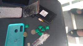 Закладчицу наркотиков задержали в Аксу