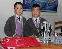 Собиратель вещей для ленивых изобрели девятилетние близнецы из Павлодара
