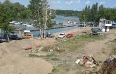 Яхт-клуб в Павлодаре загрязняет Иртыш