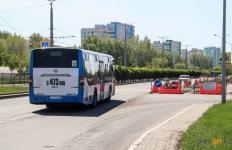 Еще три автобусных маршрута частично изменят схему движения из-за ремонтных работ в Павлодаре