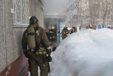 В Павлодаре во время пожара пострадали ребенок и женщина