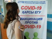 """Павлодарская область - в """"хвосте"""" по числу вакцинированных от COVID-19"""