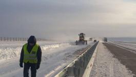 Проблемы, возникающие зимой на трассе Нур-Султан-Павлодар, обсудили в областном акимате