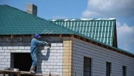 В селах Павлодарской области строится жилье для бюджетников