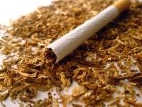 Сигарета под микроскопом