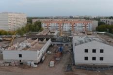 В Павлодаре в строящейся школе обрушилось бетонное перекрытие