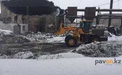 В Павлодаре в баннопрачечном комплексе прогремел мощный взрыв